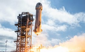 Planet co-founder among passengers on Blue Origin's next suborbital spaceflight