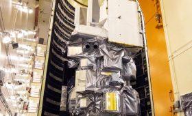 Photos: Landsat 9 encapsulated inside Atlas payload shroud