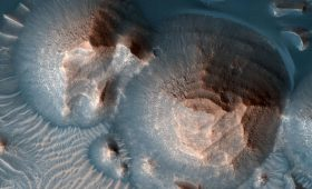 Although it's Quiet Today, Mars Once had Thousands of Volcanic Eruptions on its Surface