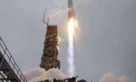New eye on planet Earth rockets into orbit from California