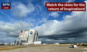 Live coverage: Inspiration4 crew splashes down off Florida coast