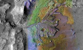Perseverance Sees Evidence of Flash Floods in Jezero Crater
