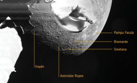 BepiColombo's First Pictures of Mercury
