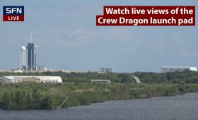 Live coverage: Crew-3 astronauts arrive at Kennedy Space Center for launch