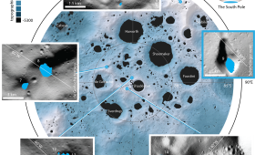 Some of the Moon's Craters are so Dark, it Takes AI to see What's Inside Them